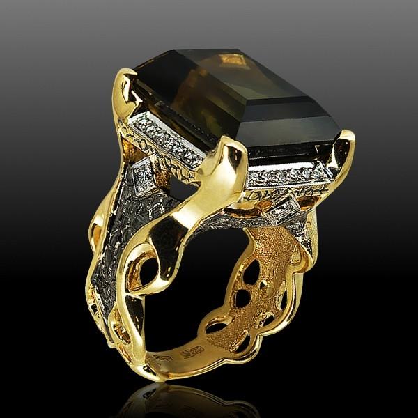 кольца с драгоценными камнями фото